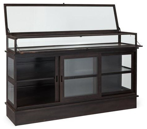 Morven Vitrine Transitional Buffets And Sideboards By A