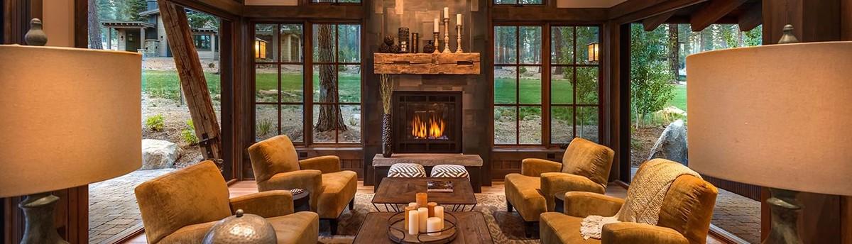 eclectic lodge. Black Bedroom Furniture Sets. Home Design Ideas
