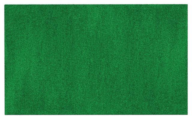 Outdoor Artificial Turf Green, 6&x27;x25&x27;.