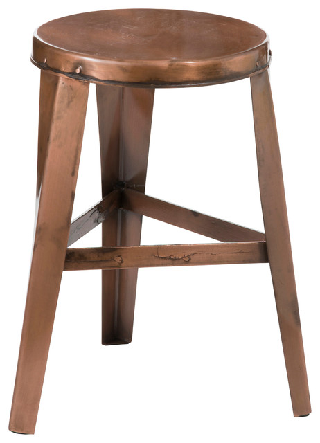 Copper Bar Stool Small