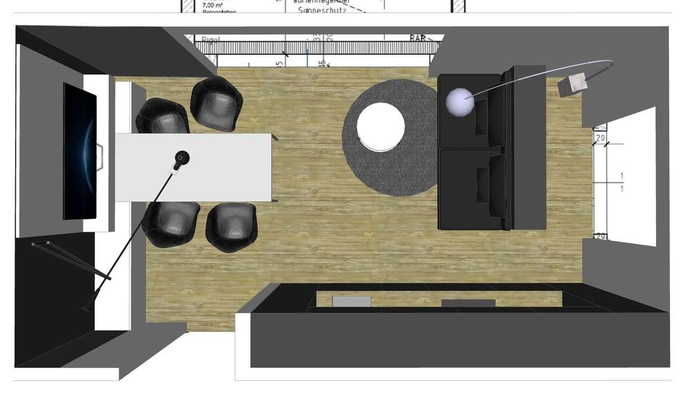 Houzz Wohnküche Bid 1