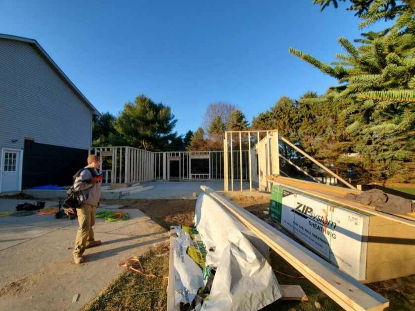 @ story 2 car garaage addition