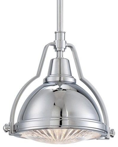 Minka lavery minka lavery 2252 77 dome 1 light 85 height minka lavery mini pendant light chrome transitional pendant lighting aloadofball Gallery