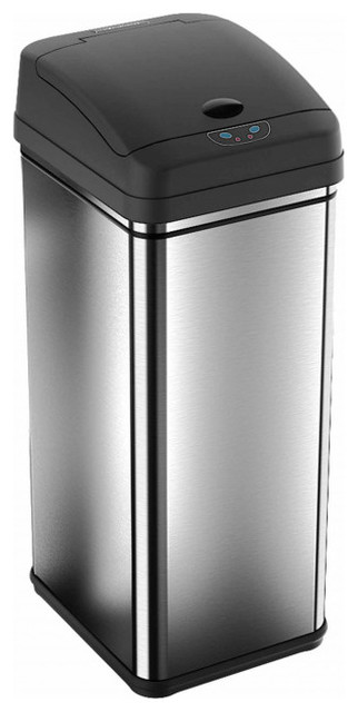 13-Gallon Deodorizer Sensor Trash Can