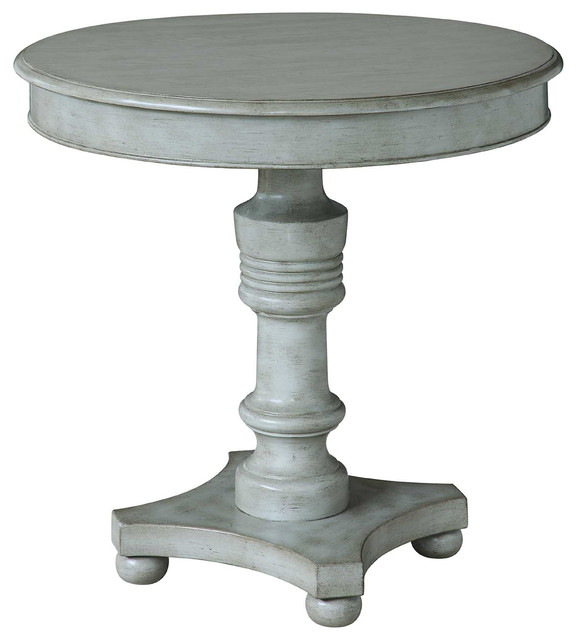 Superb Crestview Collection   Chadwick Antiqued Gray Turned Post Accent Table   Side  Tables And End Tables