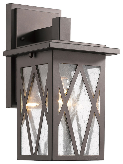 1-Light Anthony Wall Sconce, 7x11.5, Oil Rubbed Bronze.