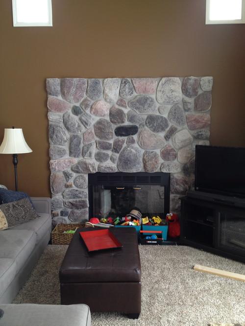 Fireplace Update Need Ideas Surround Vs Mantle Vs
