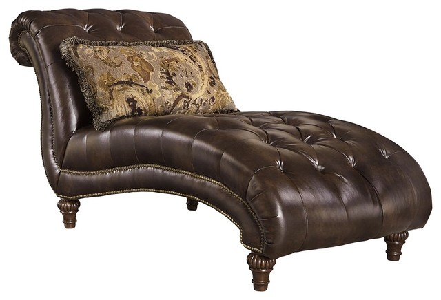 Ashley Winnsboro Durablend Chaise Vintage Traditional