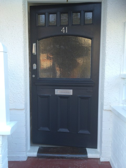 Front Door Farrow And Ball Railings