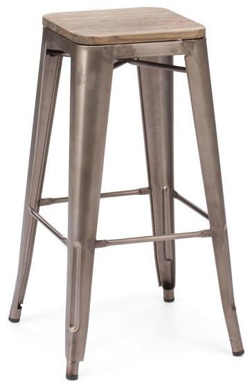 Zuo Marius Bar Chair Amp Reviews Houzz
