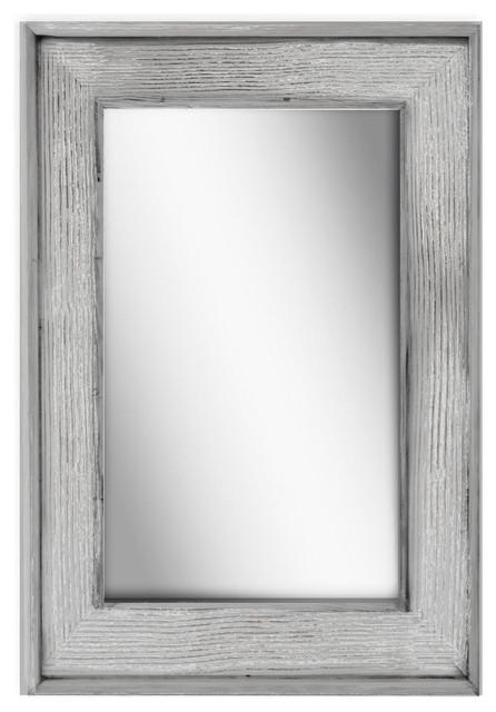 Petra Beach Wood Mirror.