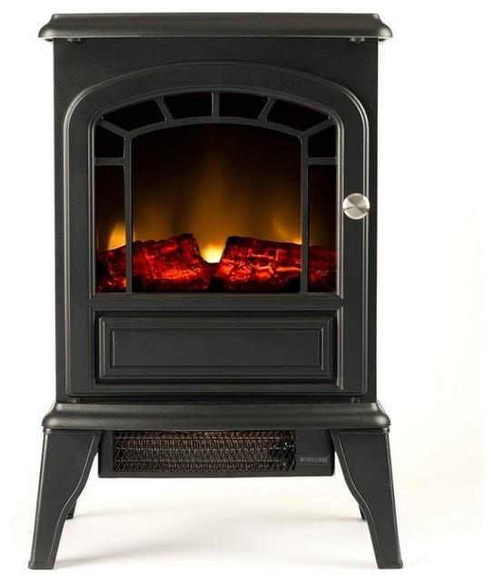 Moda Flame Ashley Electric Fireplace Stove traditional-freestanding-stoves - Moda Flame Ashley Electric Fireplace Stove - Traditional
