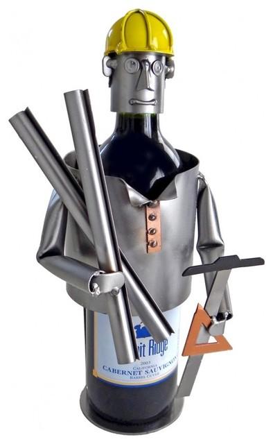 Architect Metal Wine Caddy.