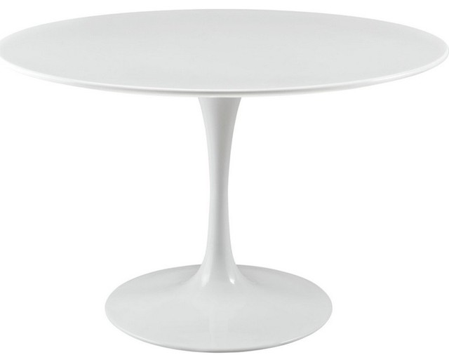 Lippa 36 Quot Wood Top Dining Table Midcentury Dining