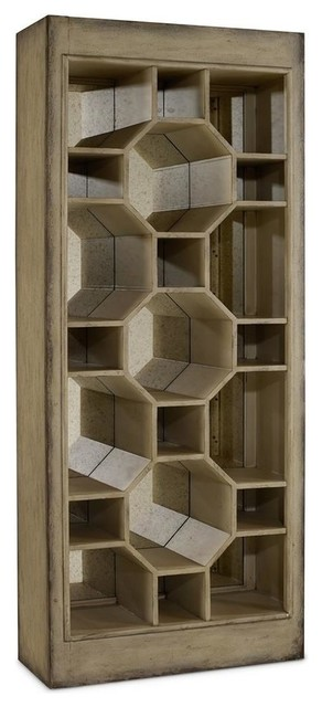 ... Melange Show-Off Display Cabinet - China Cabinets And Hutches | Houzz