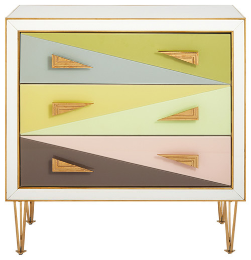 Harlequin Three-Drawer Chest