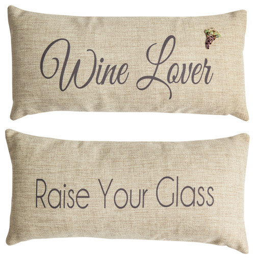 Wine Lover Pillow Cover, gifts for wine lovers, wine lovers gits, pillow for wine lover