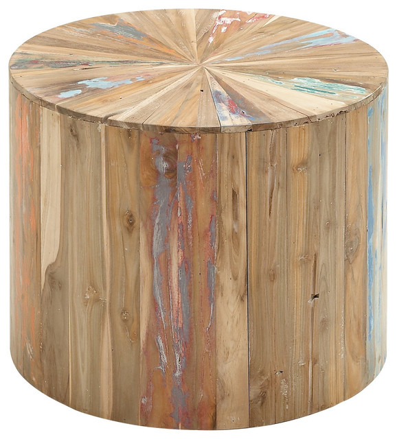 Reclaimed Wood Side Table Rustic Side Tables And End Tables