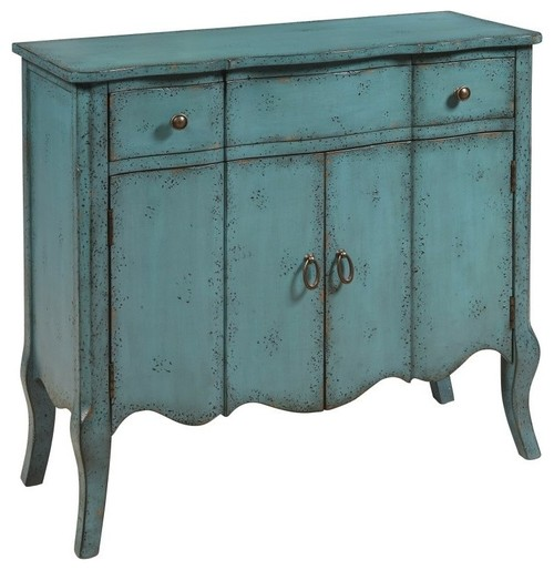 Pulaski Furniture Distressed Turquoise Accent Chest