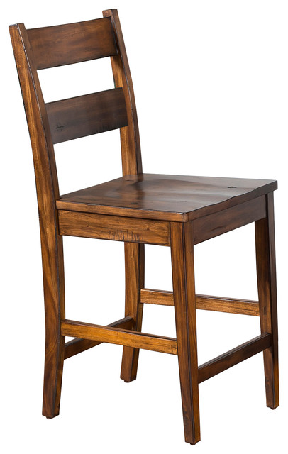 Sunny Designs Tuscany Ladder Back Bar Stool Stools And Counter By Gwg Outlet