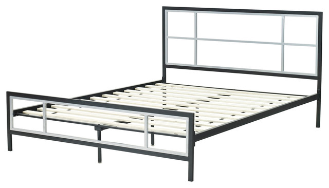 Lincoln Square Metal Platform Bed Frame, Twin.