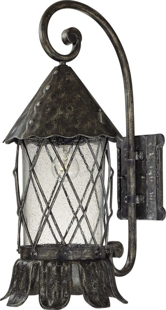 Exterior Wall Sconce Mounting Height : Volume Lighting V8332 1 Light 24.75