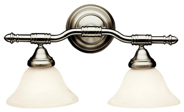 energy bathroom lighting energy efficient 2 light vanity fixture brushed nickel 18240