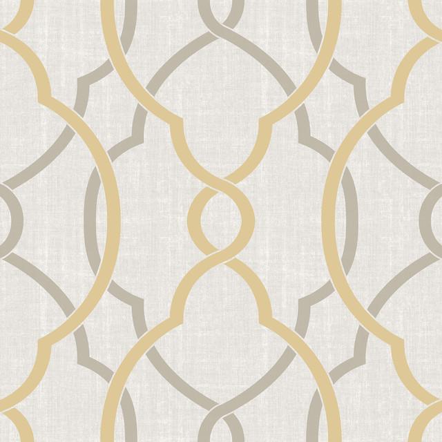 Modern Trellis Peel And Stick Wallpaper Sample
