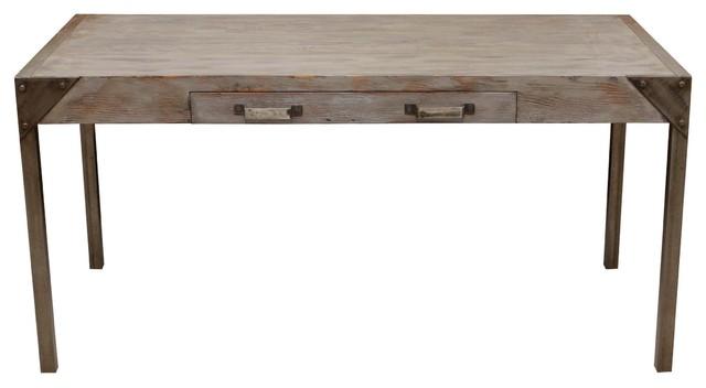 Urban Desk Handmade With Reclaimed Wood industrial-desks-and-hutches - Urban Desk Handmade With Reclaimed Wood - Industrial - Desks And