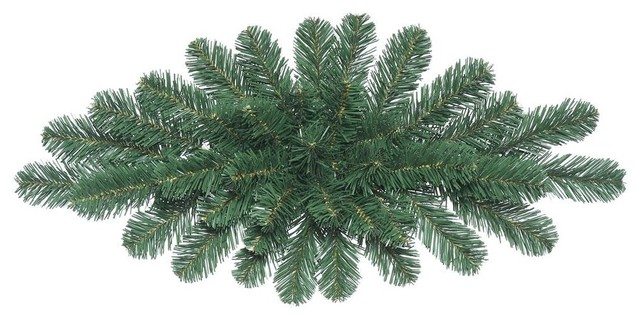 "30"" Oregon Fir Christmas Swag, 39 Pvc Tips."