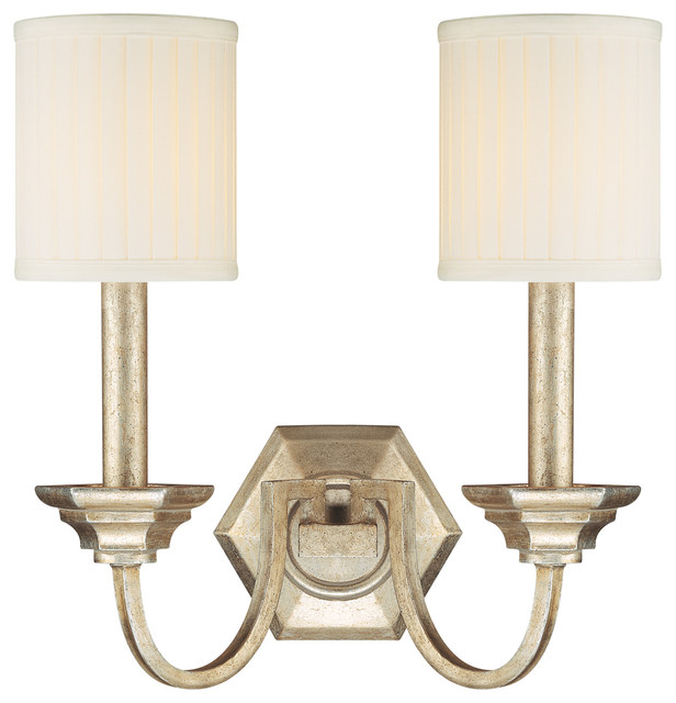 Wall Sconces Transitional : Transitional 2 Light Wall SconceFifth Avenue Collection - Transitional - Wall Sconces - by ...