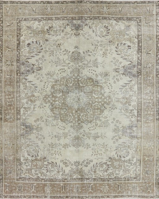 10'x12' Hand Knotted Overdyed Oriental Rug, W1939