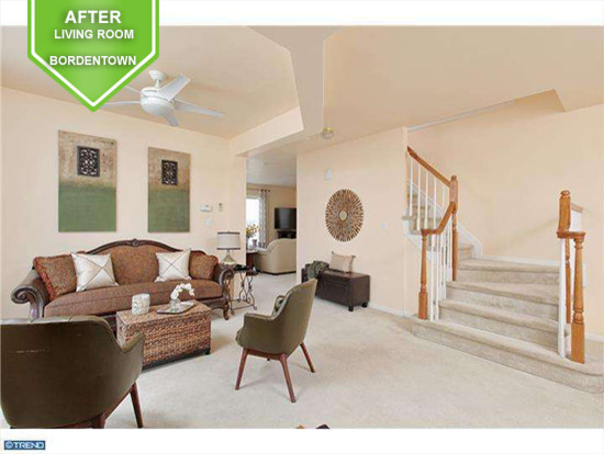 Bordentown After Living Room