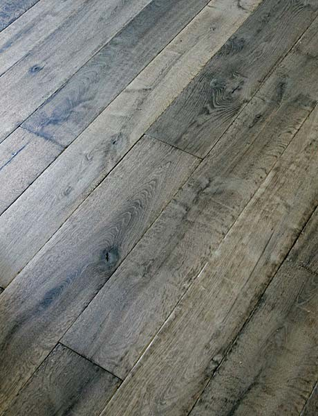 Manoir Gray Custom Aged French Oak Floors
