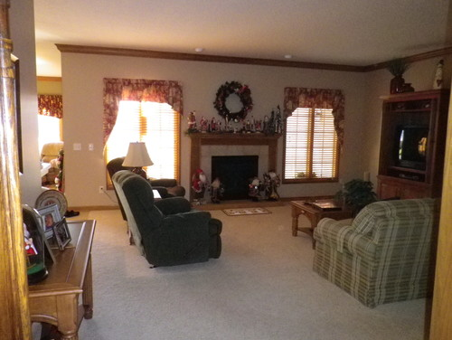 Redecorate family room for Redecorating family room