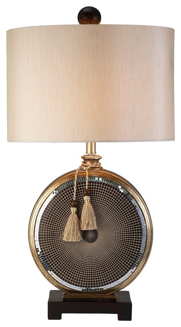 Lovely Mosaic Table Lamp Traditional Table Lamps