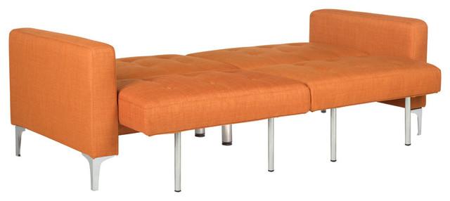 Soho Foldable Futon Bed, Orange