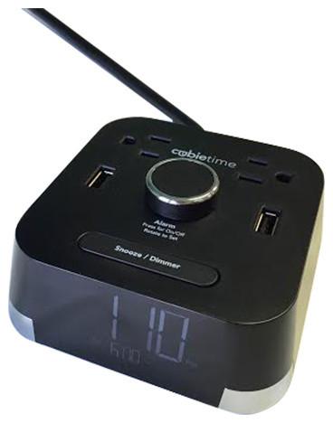 cubie time charging alarm clock