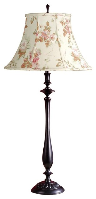 Laura Ashley BTS002 Kia Table Lamp Base Antique Black contemporary-lamp-  bases