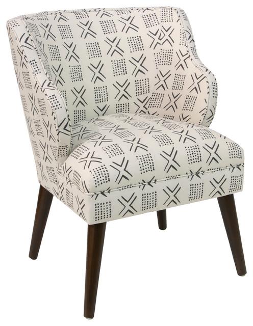 Modern Chair, Remmy Cream by Skyline Furniture Mfg Inc