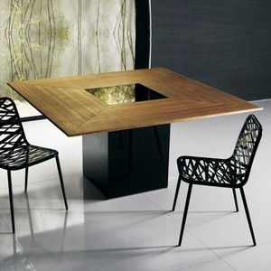 contemporary square dining table rustic modloft fitzroy square dining table modern tables by ylivingcom