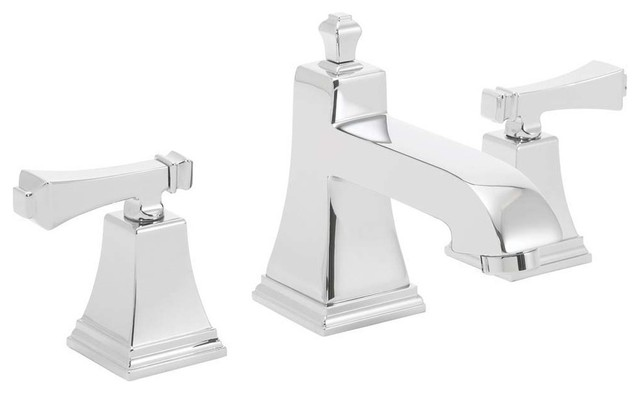 "Bathroom Faucet Collections rainier collection 8"" widespread faucet, polished chrome"