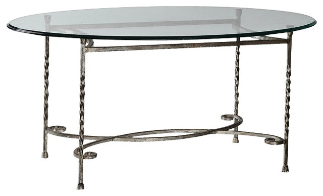 Uttermost 24475 Nuncia Glass Coffee Table Traditional Coffee Tables By Mylightingsource