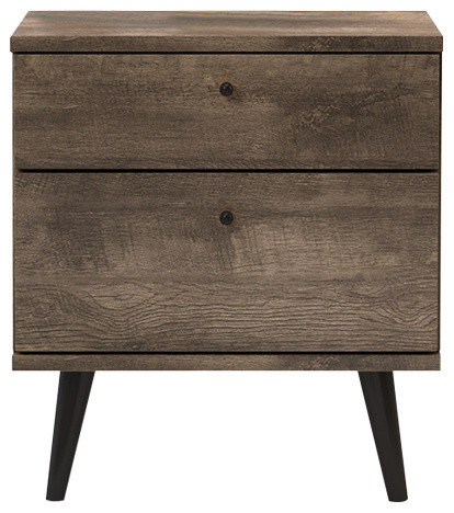 bedroom side tables. International Home Miami Corp  Midtown Concept Madrid 2 Drawer Mid Nightstands and Bedside Tables Houzz