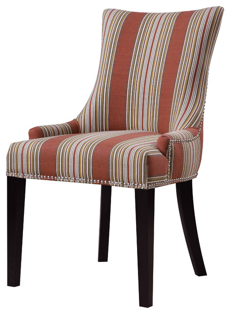 Gretchen Striped Dining Chair.
