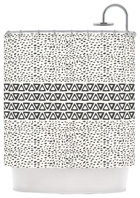 Houzz Kess Inhouse Pom Graphic Design Wind Day White