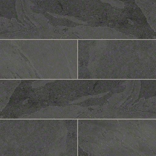 Gauged Montauk Black Slate Tile Traditional Wall And Floor Tile