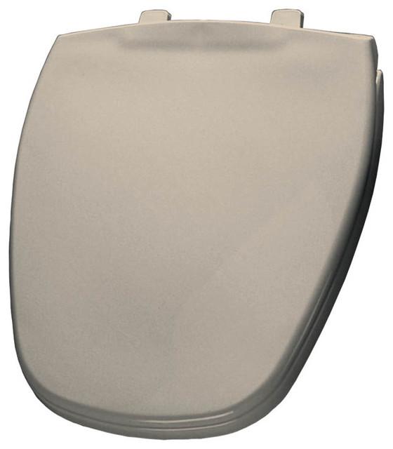 Bemis Bemis 1240200 000 Plastic Round Toilet Seat Toilet Seats Houzz
