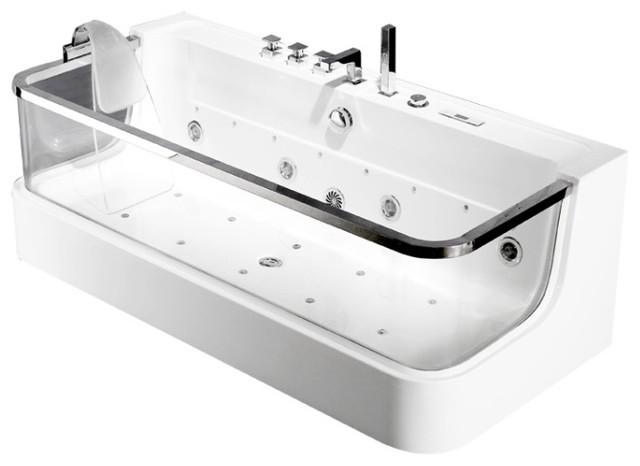 Rubeza C-450 Whirlpool Luxury Massage Jets Bathtub.