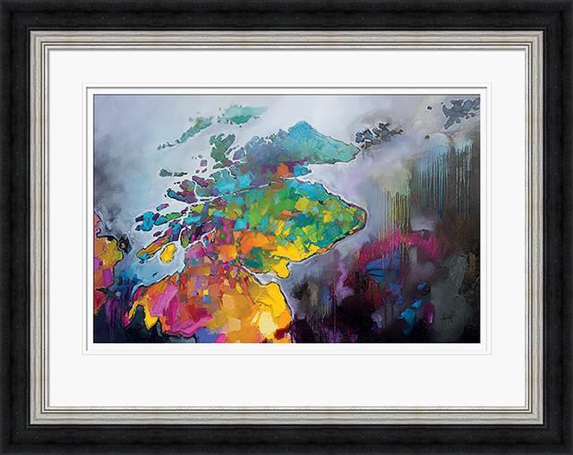 """Scotland"" Framed Print by Scott Naismith, 75x95 cm"